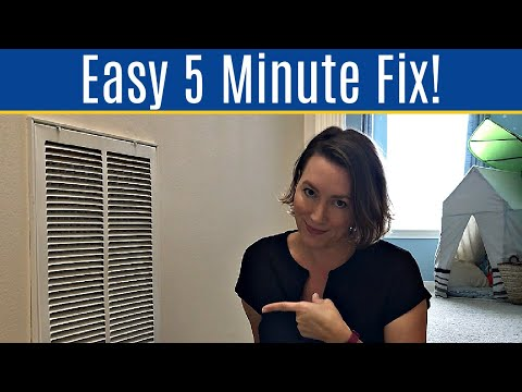 How to Fix a Loud AC Return Vent - Easy Fix for Noisy Air Vent