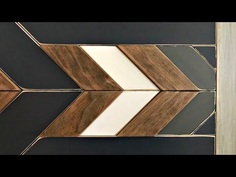 DIY Scrap Wood Wall Art - Easy to Follow Build Steps