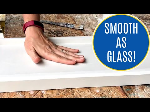 How to Get a Smooth Finish with Chalk Paint - Easy DIY Fix for Rough Feeling Chalk Paint Furniture