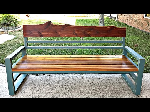 DIY Outdoor Sofa using 2x4's and 2x6's - Woodworking Build Plan
