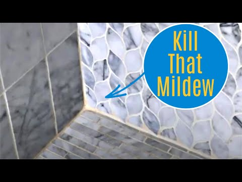 How to Clean Marble Shower Tile, Kill Mildew, & Seal - Easy DIY Works on Marble and Stone Tile