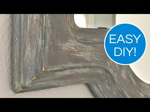 Easy DIY Chalk Paint Look - Distress and Layer Chalk Paint for a Weathered Antique Look