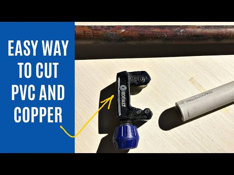 How to Use a Pipe Cutter on PVC Pipe and Copper Pipe for DIY Home Decor Projects