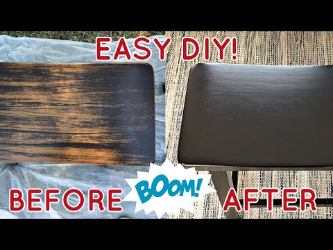 How to Stain Wood Furniture Without Stripping - Using General Finishes Gel Stain
