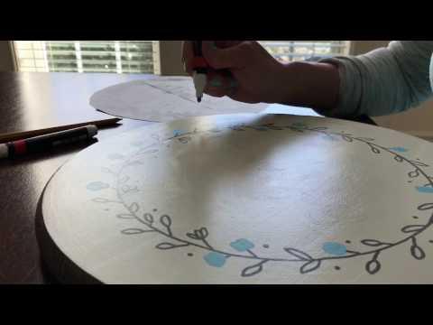 Reversible Sign DIY Decor