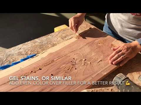 Homemade Wood Filler with Sawdust - DIY Steps and Tips