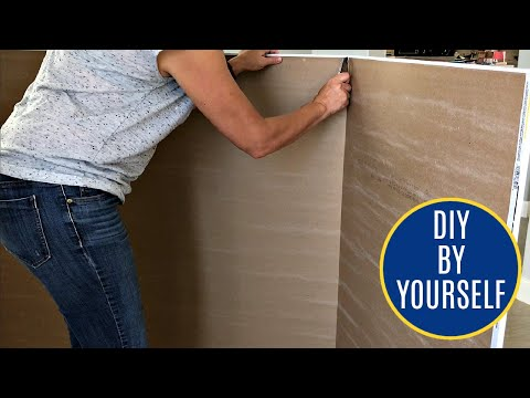 How to Cut & Hang Drywall By Yourself - 15 Beginner Tips