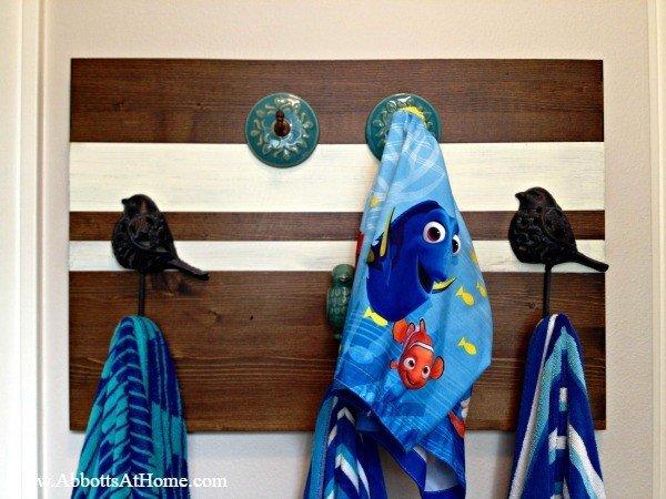 DIY Towel or Coat Rack