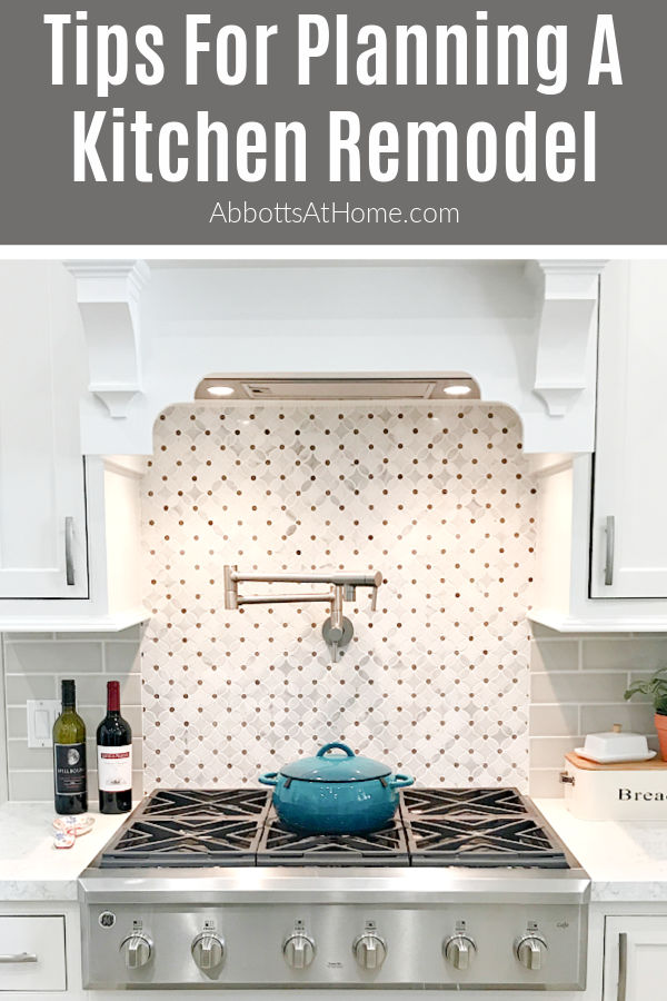 If you are Planning a Kitchen Remodel, but don't know where to start, here are my tips for saving money, better flow, organization, & storage!