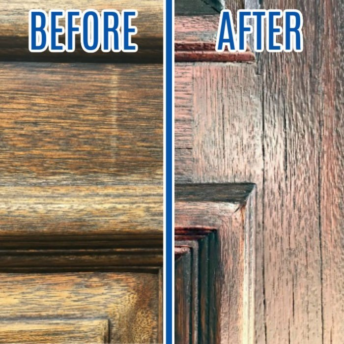 How to Restain A Door Without Removing It