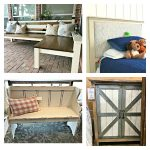 This months furniture design ideas and inspiration are partly my own DIY builds and partly great pieces I found at Home Goods and Kirklands. I took these pictures to keep track of nice designs I might want to inspire a future build. Today I'm sharing these furniture design ideas with you!