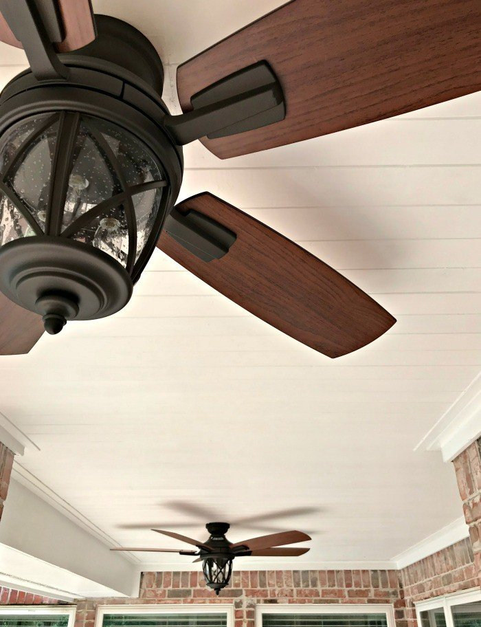 Use this DIY Wood Plank Porch Ceiling Tutorial to turn your porch into that beautiful, charming porch you've always wanted, in just a weekend.