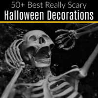 Make your house the scariest on the block! Here's my picks for the best scary Halloween decorations for your home, on any budget.