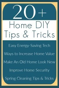 20+ Easy Home Improvement DIY Projects, Tips and Tricks that I use and on my home. These are the DIY projects that I recommend for saving you money, making your life easier, and/or making your home look modern and beautiful. DIY Home Improvement ideas and projects.