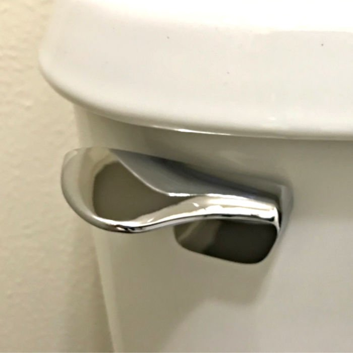 Here's how you can install a toilet handle lever in about 10 minutes. This easy DIY project will save you from paying about $150 on a service call. Win!