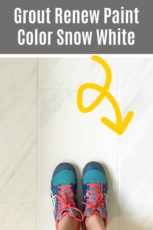 Does Grout Renew Work? Here's a before and after review from years of using Grout Renew to paint my grout. With easy DIY tips for beginners! Grout Renew Grout Paint Review.