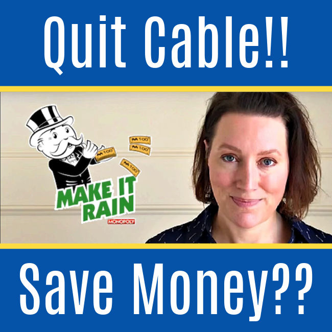 It's time to get rid of cable or satellite tv by switching to streaming tv. Here's what happened when I quit cable, how to stream tv on your tv, the pros and cons, and more. Making the switch has never been easier and you can save hundreds every year and still have your favorite shows.