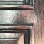 Can you Stain a Door Without Taking It Down? Yes, absolutely. But you have to be careful about when you do it and what you use. Here's my guide to staining your front door with gel stain. This will give you a beautiful finish on wood, fiberglass, and metal doors. Works on bare, painted, and previously stained doors.