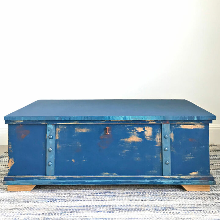 Grab the printable DIY Toy Box Build Plans for this beautiful extra large storage chest. This build is easy enough for beginner woodworkers.