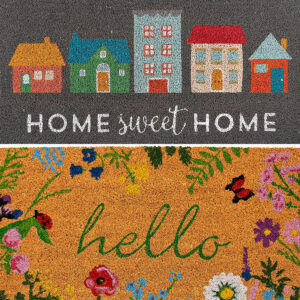 Here's my top picks for the Best Outdoor Door Mats for any home! Including tips for picking the right size, best materials, & beautiful style.