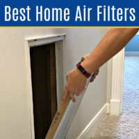 The Best AC Filter Replacement for Cleaner Air in a Home! These Air Filters remove dust, pet dander, bacteria, allergens, smoke, & viruses.